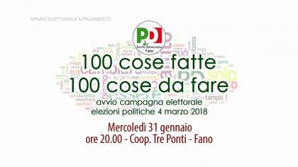 PD Avvio campagna elettorale (31 gennaio 2018)
