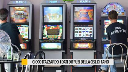 Gioco d'azzardo, i dati diffusi dalla CISL di Fano – VIDEO