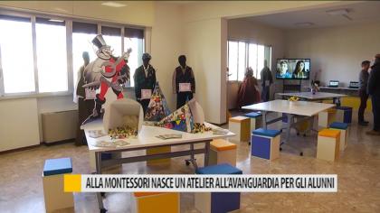 Alla Montessori nasce un atelier all'avanguardia per gli alunni – VIDEO