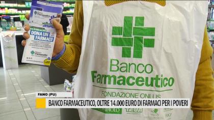 Banco farmaceutico, oltre 14.000 euro di farmaci per i poveri – VIDEO
