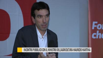 Incontro pubblico con il ministro dell'agricoltura Maurizio Martina – VIDEO