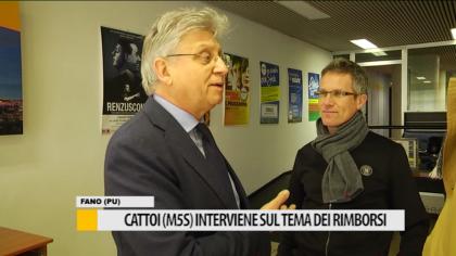 Cattoi M5S, interviene sul tema dei rimborsi – VIDEO