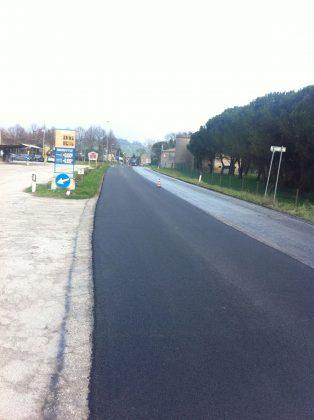 """Asfaltato un tratto della strada provinciale 45 """"Carignano"""""""