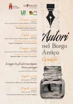 """Corinaldo, cinque appuntamenti per """"Autori nel Borgo Antico"""""""