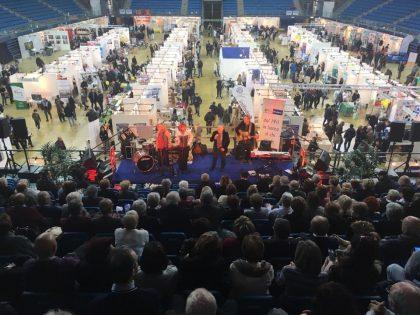 """Si chiude con migliaia di presenze """"Insiemesì 5° Expo di primavera"""" organizzato dalla BCC di Gradara all'Adriatic Arena di Pesaro"""