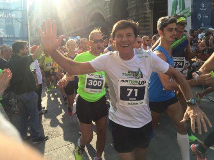 """Lo scatto verso Morandi: """"Gianni, vieni a correre la ColleMar-athon"""""""