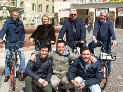 Rivoluzione bike sharing, Ricci: «Sempre più città della bicicletta»