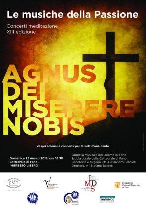 Agnus dei miserere nobis: la cappella musicale del duomo di Fano in concerto per la settimana santa