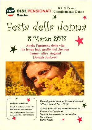 """Festa della Donna: un pomeriggio con la poesia di Pasqualon al Centro Culturale """"Pino Monaldi"""""""
