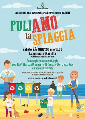 """""""Puliamo la spiaggia"""" anche il comune di Mondolfo aderisce alla campagna del wwf"""