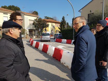 'Zero semafori', Ricci: «Rotonde Borgo Santa Maria, buona la prima»