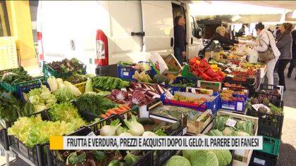 Frutta e verdura, prezzi e acquisti dopo il gelo: il parere dei fanesi – VIDEO