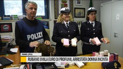 Rubano 3mila euro di profumi, arrestata donna incinta – VIDEO