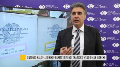 Antonio Baldelli chiede parità di seggi tra nord e sud delle marche – VIDEO