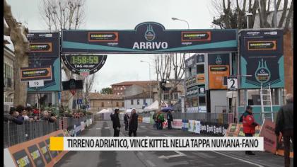 Tirreno-Adriatico, vince Kittel (Katusha-Alpicen) nella tappa Numana-Fano – VIDEO