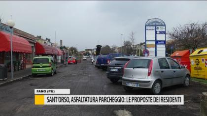 Sant'Orso, asfaltatura parcheggio: le proposte dei residenti e amministratori – VIDEO