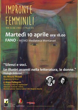 Impronte femminili – 10 aprile, Memo a Fano
