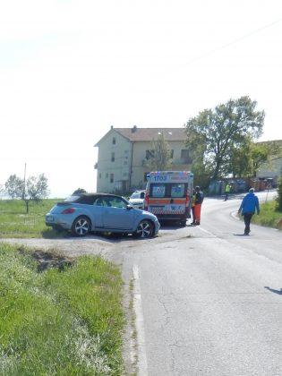 San Costanzo, incidente sulla Orcianese – VIDEO