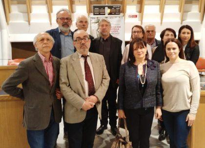 """Sala """"Pierangeli"""" gremita per la proiezione del documentario su Claudio Cecchi"""