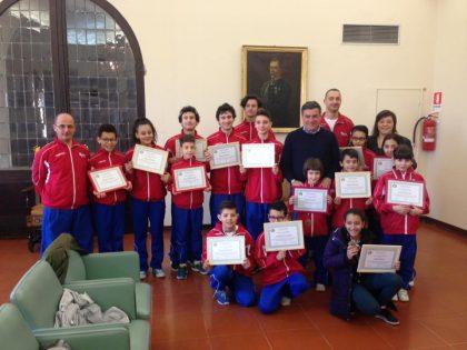 Fano, premiazione taekwondo