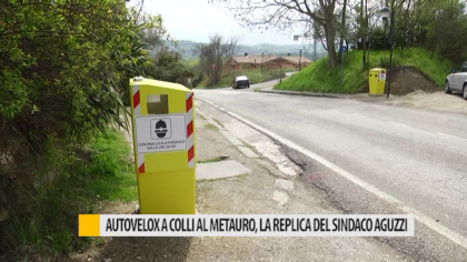 Autovelox Colli al Metauro, la replica del sindaco Aguzzi – VIDEO