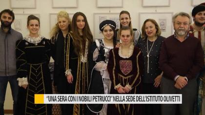 """""""Una sera con i nobili Petrucci"""" nella sede dell'istituto Olivetti – VIDEO"""
