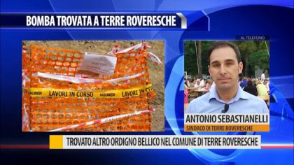 Trovato un altro ordigno bellico nel comune di Terre Roveresche – VIDEO