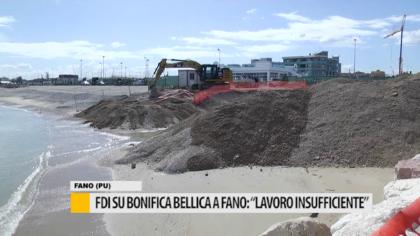 """FDI su bonifica bellica a Fano: """"lavoro insufficiente"""" – VIDEO"""