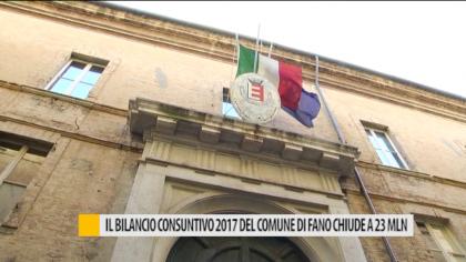 Il bilancio consuntivo 2017 del comune di Fano chiude a 23 milioni – VIDEO