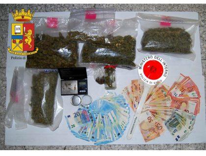 Operazione antidroga della Polizia: effettuato un arresto ad Urbino