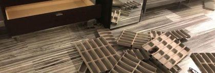 Vallefoglia, razzia nella notte: rubati occhiali griffati per 50mila euro