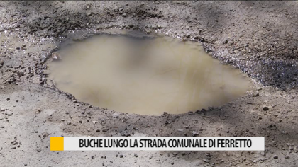 Strada comunale Ferretto, i residenti chiedono lavori di asfaltatura – VIDEO