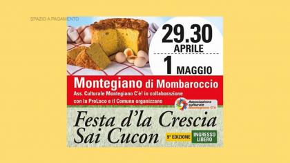 Festa d'la Crescia sai Cucon – Montegiano (1 maggio 2018)