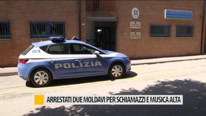 Arrestati due moldavi per schiamazzi e musica alta – VIDEO