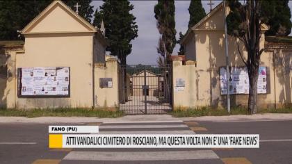 """Atti vandalici al cimitero di Rosciano, ma questa volta non è una """"Fake News"""" – VIDEO"""