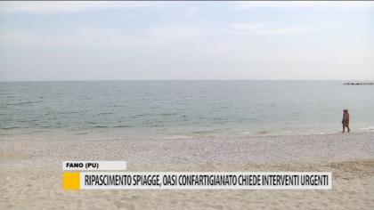 Ripascimento spiagge, Oasi Confartigianato chiede interventi urgenti – VIDEO