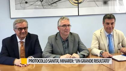 """Protocollo sanità, Minardi: """"Un grande risultato"""" – VIDEO"""