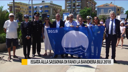 Issata alla Sassonia di Fano la Bandiera Blu 2018 – VIDEO
