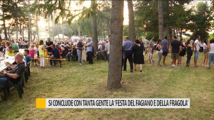 """Fano, si conclude con tanta gente la """"Festa del Fagiano e della Fragola"""" – VIDEO"""