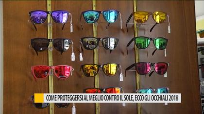 Come proteggersi al meglio contro il sole, ecco gli occhiali 2018 – VIDEO