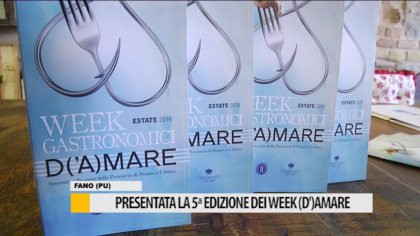 Presentata la 5° edizione dei week (d')Amare – VIDEO