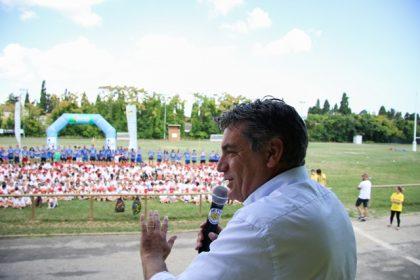 Tutti in campo insieme al sindaco:  al Jump Day è festa per 550 bambini