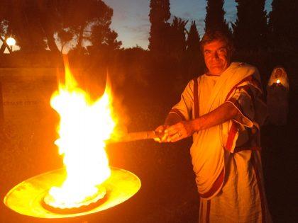 Il fuoco accende la Fano dei Cesari 2018