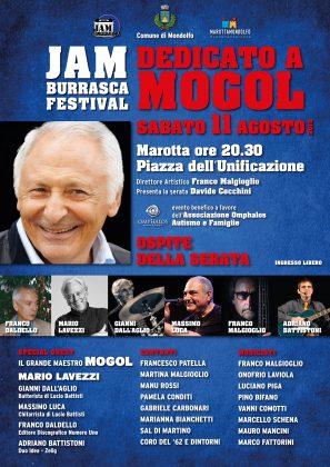 Jam Burrasca Festival a Marotta: sul palco arriva il maestro Mogol – VIDEO