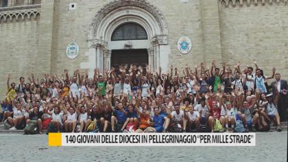 """140 giovani delle diocesi in pellegrinaggio per """"mille strade"""" – VIDEO"""