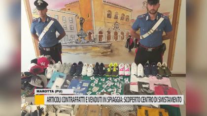 Articoli contraffatti e venduti in spiaggia: scoperto centro di smistamento – VIDEO