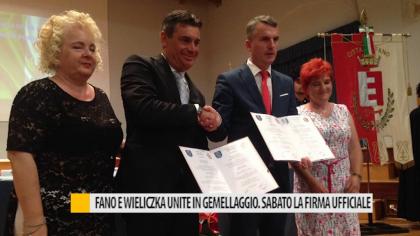 Fano e Wieliczka unite in gemellaggio: sabato firma  ufficiale – VIDEO