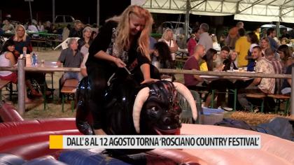 """Dall'8 al 12 agosto torna """"Rosciano Country Festival"""" – VIDEO"""