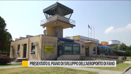 Presentato il piano di sviluppo dell'aeroporto di Fano – VIDEO