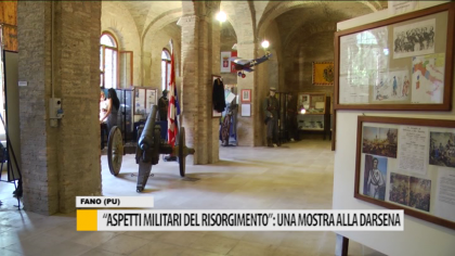 """""""Aspetti militari del Risorgimento"""": una mostra alla Darsena Borghese – VIDEO"""